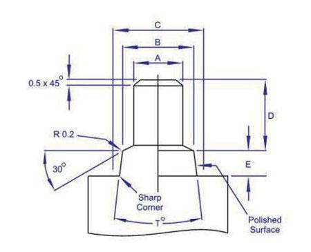 Plan-broche-positionnement-insert-trou-borgne-pour-surmoulage-serie-iftc